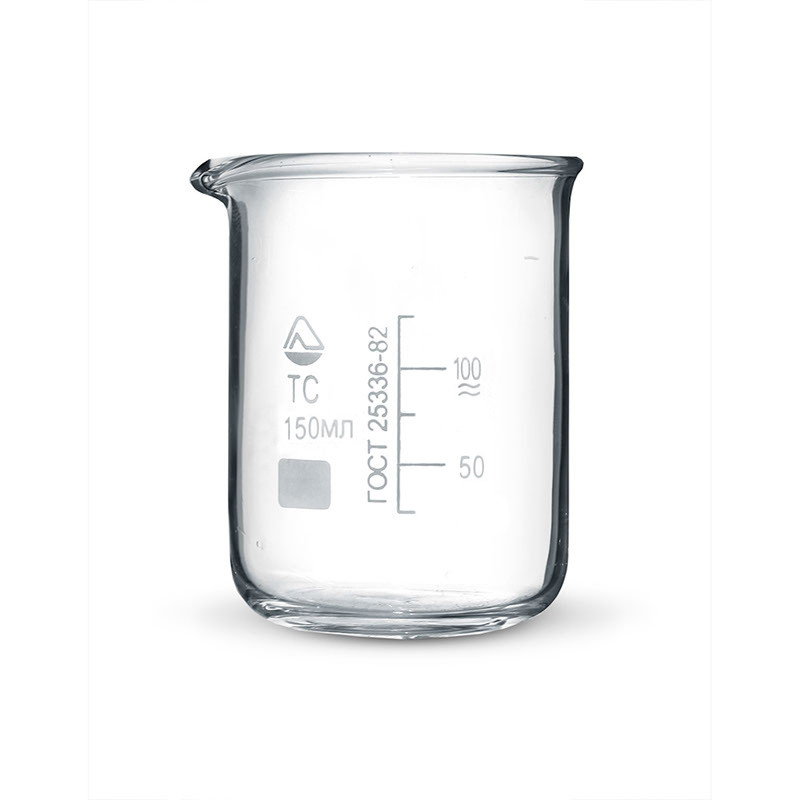 Стакан мерный стеклянный 150 мл.