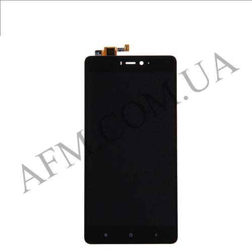 Дисплей (LCD) Xiaomi Mi4s с сенсором чёрный