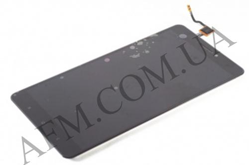 Дисплей (LCD) Xiaomi Mi Max/  Mi Max Pro/  Mi Max Prime с сенсором чёрный