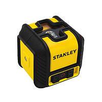 """Уровень лазерный """"Cubix"""" кросслайнер, красный луч, дальность 12м STHT77498-1 Stanley"""