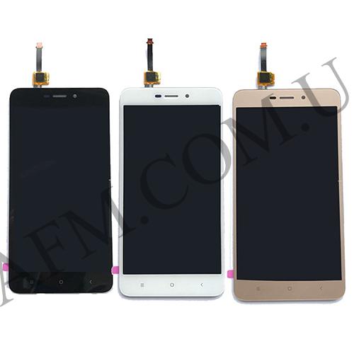 Дисплей (LCD) Xiaomi Redmi 4X с сенсором белый