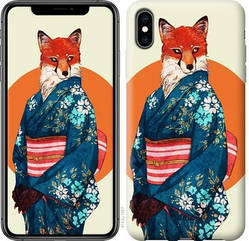 """Чехол для телефона """"Лиса в кимоно"""" (Модели внутри)"""