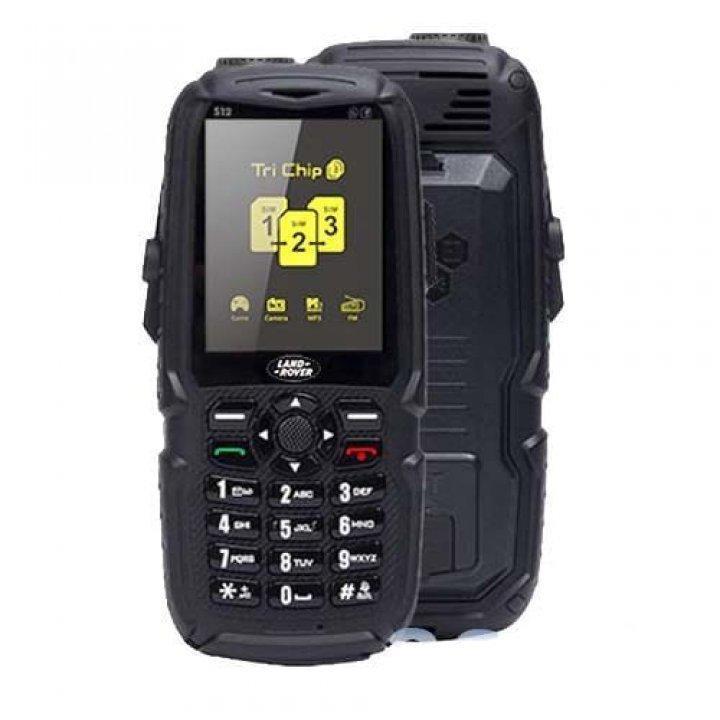 Телефон противоударный S23 с 3SIM с POWER BANK 10000mAh черный