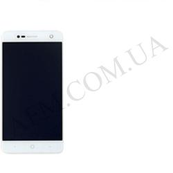 Дисплей (LCD) ZTE V8 Mini с сенсором белый