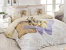 Комплект постельного белья сатин 3d First Choice евро размер Dulce