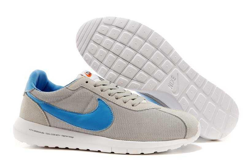 ff5bfbc5 Мужские Кроссовки Nike Roshe Run LD Grey Blue | Найк Роше Ран Серые ...