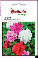 Насіння квітів Петунія Грандіфлора Тріумф, суміш 0,2г Садиба центр