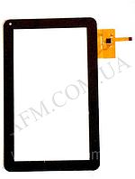 Сенсор (Touch screen) Assistant AP- 100/  AP- 110 (тип 1) (257*159) DPT 300- N3765A- D00 чёрный 12 pin