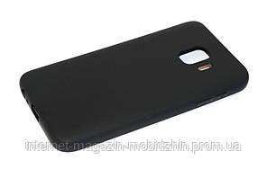 Чехол силиконовый Samsung J260 J2 Core 2018 черный Honor Umatt Series