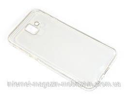 Чехол силиконовый Samsung J610 Galaxy J6 Plus 2018, прозрачный Ultra Thin Air Case