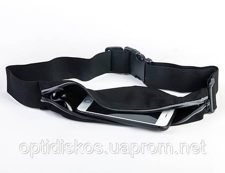 Сумочка для бега, спортивный пояс для телефона Havit HV-SA006, черная, фото 2