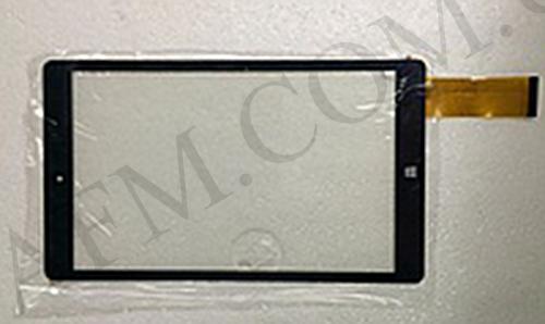 Сенсор (Touch screen) Bravis (226*132) WXi89 3G тип 3 (HC226133A1- FPC) чёрный