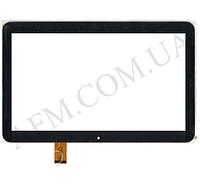 Сенсор (Touch screen) Bravis (247*155) NB106 3G (тип 1)/  NB107 чёрный