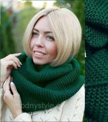 шарф хомут женские вязаные шарфы разные цвета продажа цена в