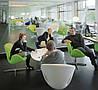 Кресло для ресторана, кресло дизайнерское, кресло для салона красоты (СВАН зеленый), фото 5