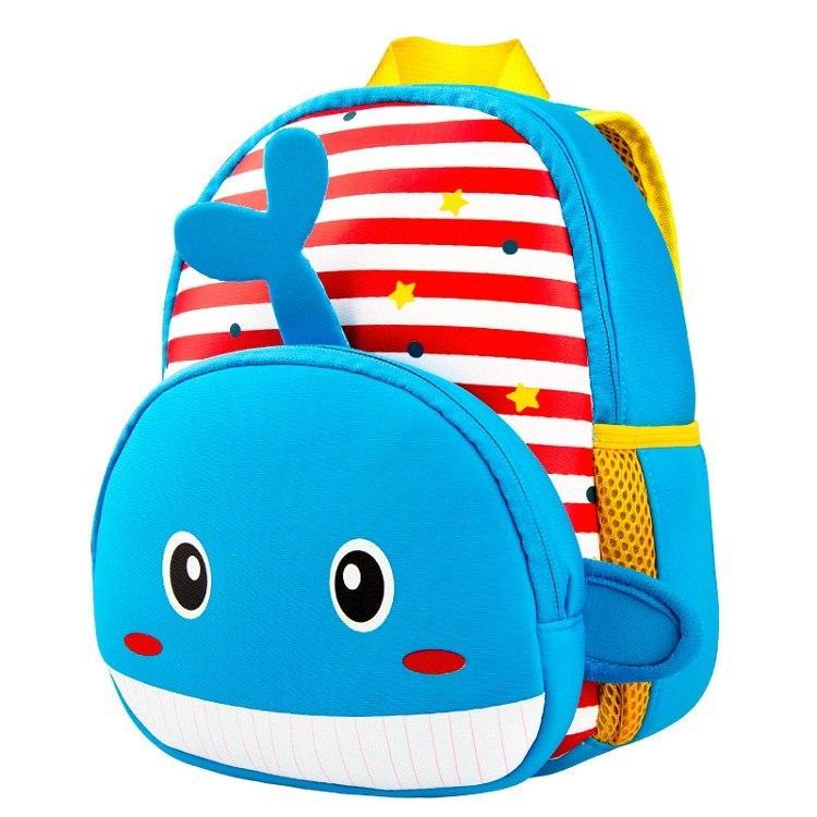 Дитячий рюкзак Синій кит