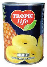Ананас консервированный ТМ Tropic, 580 мл