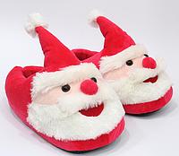 Тапочки-кигуруми Дед Мороз,25-29, Тапочки-игрушки