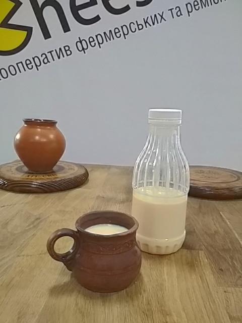 Пряжене молоко 0,5л. Солодкі