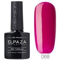 Гель лак ELPAZA 068 Розовое настроение, 10 мл