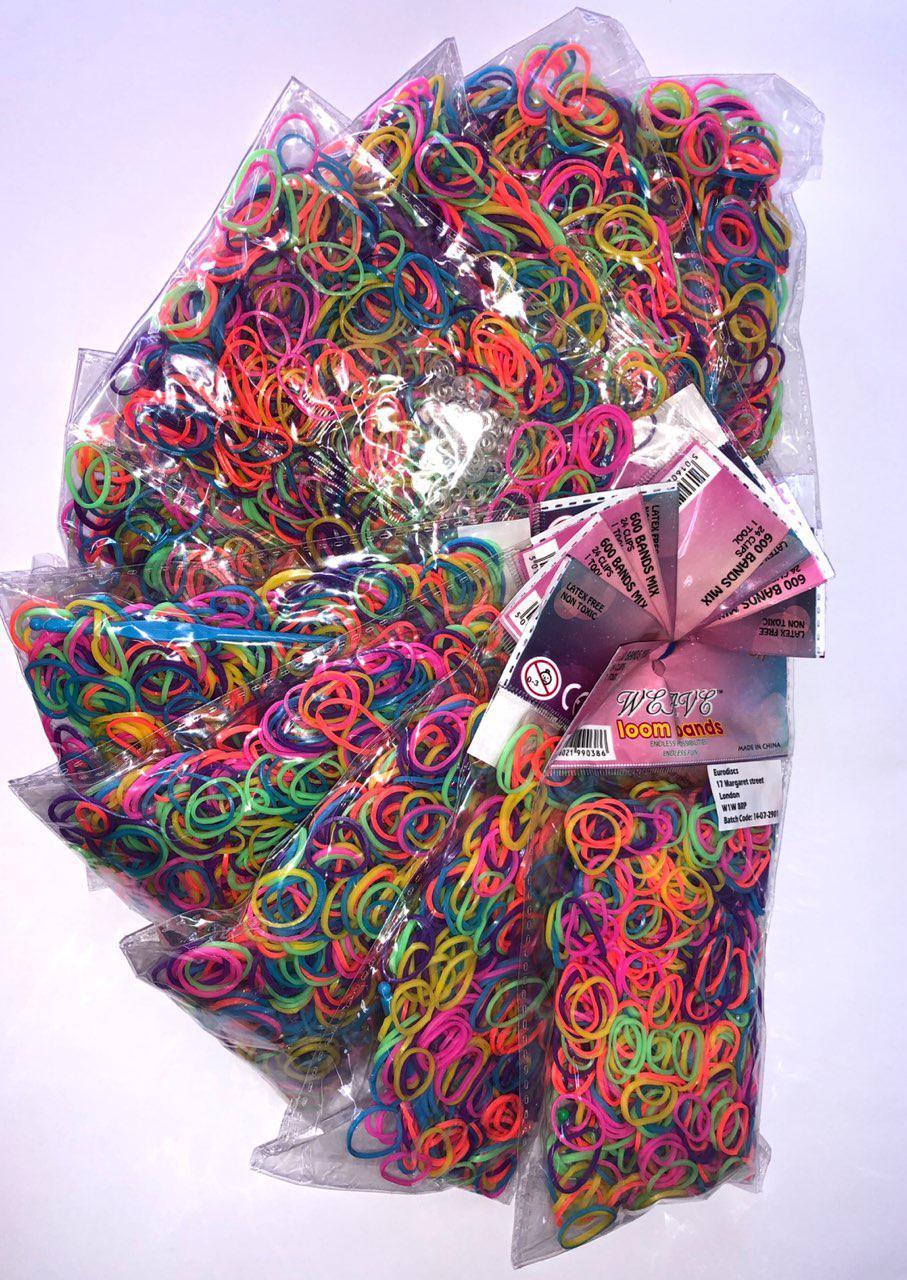 Набор для плетения цветными резинками Weave Loom bands 10 шт. (5016021990386)