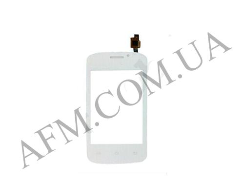 Сенсор (Touch screen) Fly IQ239 белый без камеры