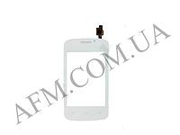 Сенсор (Touch screen) Fly iQ239 Era Nano 2,   белый,   без отверствия на фронтальную камеру*