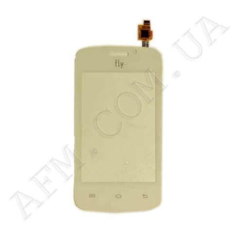Сенсор (Touch screen) Fly IQ239 белый с камерой