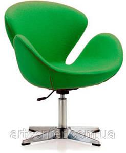 Кресло для ресторана, кресло дизайнерское, кресло для салона красоты (СВАН зеленый)