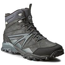 ОРИГИНАЛ! Зимние ботинки Merrell Capra Glacial Ice+Mid Waterproof J35799 (Черные), фото 2