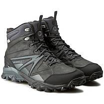 ОРИГИНАЛ! Зимние ботинки Merrell Capra Glacial Ice+Mid Waterproof J35799 (Черные), фото 3