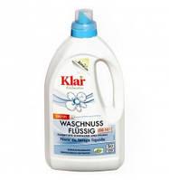 """Органическое жидкое средство для стирки """"Мыльный орех"""" Klar, 1,5 л"""