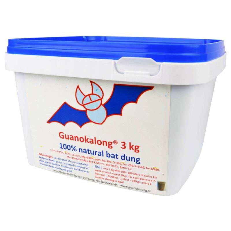 Органическое удобрение Guanokalong Powder 3kg