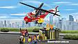"""Конструктор Lepin 02046 """"Пожарная команда быстрого реагирования"""" 305 деталей. Аналог LEGO City 60108, фото 2"""