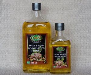 Олія з ядер волоського горіху 0,5 Знахар