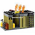 """Конструктор Lepin 02046 """"Пожарная команда быстрого реагирования"""" 305 деталей. Аналог LEGO City 60108, фото 7"""