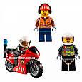 """Конструктор Lepin 02046 """"Пожарная команда быстрого реагирования"""" 305 деталей. Аналог LEGO City 60108, фото 8"""