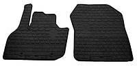 Резиновые передние коврики для Renault Zoe 2012- (STINGRAY)