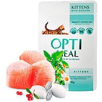 Optimeal Kitten (для котят от 2 до 12 месяцев)