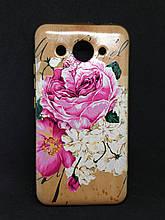 Чехол Huawei Y3 2017 Flowers&Diamonds