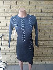 Платье теплое вязаное HAO, фото 2