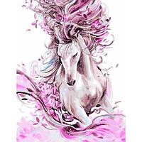 Картина по номерам. Изящная лошадь