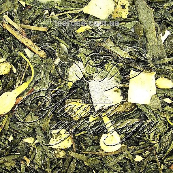 Зелений ароматизований чай «Флет Уайт»