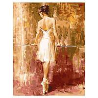 Картина по номерам.Балерина в позиции