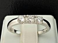 Серебряное кольцо с фианитами. Артикул 19205Р 19, фото 1