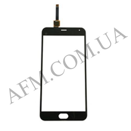 Сенсор (Touch screen) Meizu M2 Note (M571) чёрный