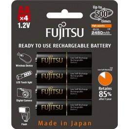 Аккумулятор AA Fujitsu 2450mAh Ni-MH 4шт