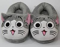 Тапочки-кигуруми Серый кот ,36-39