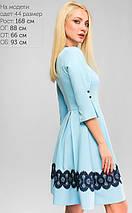 Женское расклешеное платье в складку (3170 lp), фото 2