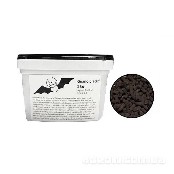 Органическое удобрение Guanokalong Granule Black 1kg